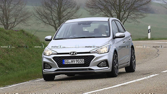 Hyundai Elite I20 N Hatchback Spotted On Test On The Nurburgring