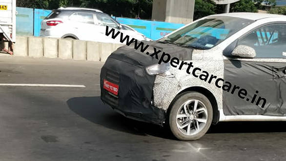 Second generation Hyundai Grand i10 spotted on test in