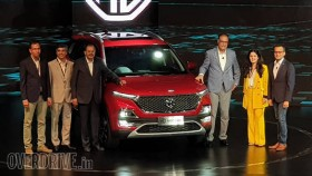 2019 MG Hector SUV unveiled in India