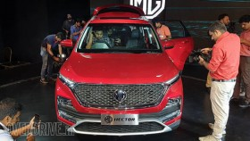 Image Gallery: MG Hector unveiled in India