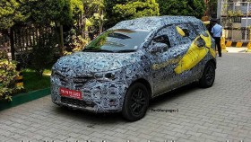 Renault Triber spotted on test in production avatar – India launch soon
