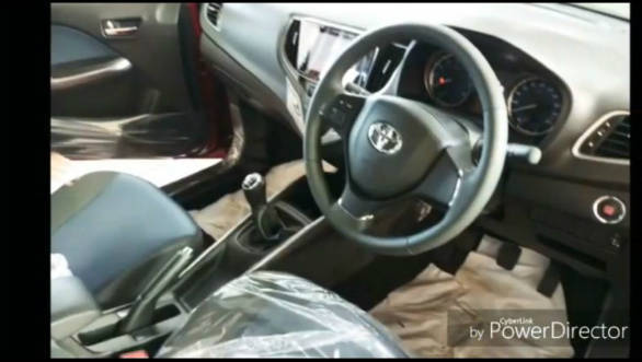 Upcoming Toyota Glanza Hatchback Interior Spied Overdrive