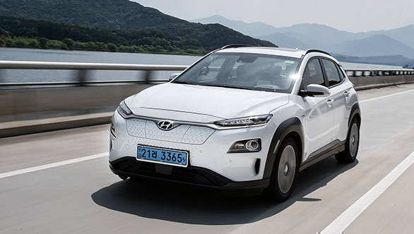All Electric Hyundai Kona Crossover To Offer A Driving Range Of