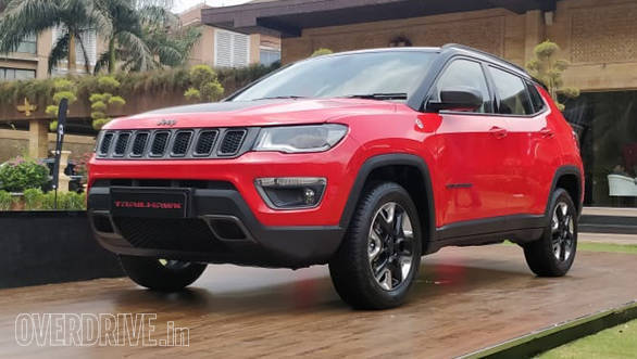 2019 Jeep Compass Trailhawk Suv Showcased In India Overdrive