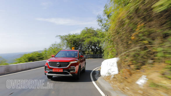 2019 MG Hector first drive review - Overdrive