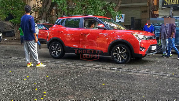 2019 Mahindra Xuv300 Amt Suv Spotted Undisguised Again Overdrive