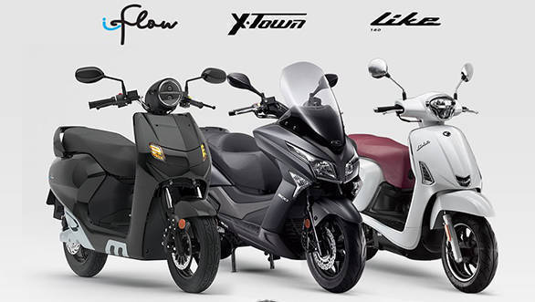 22kymco Flow Electric Like 200 And X Town 300i Abs Maxi