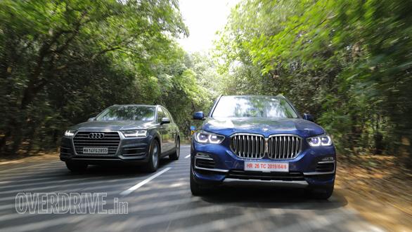 Comparison Test Bmw X5 Vs Audi Q7 Overdrive
