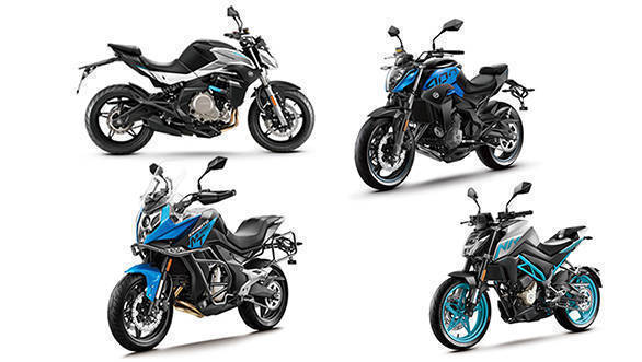 CF Moto 250NK, 400NK, 650MT and 650 NK motorcycles to be