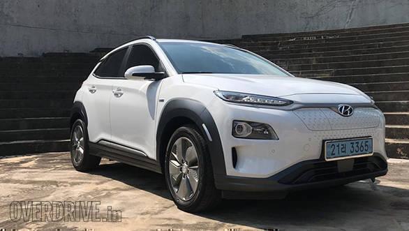 Image Gallery 2019 Hyundai Kona Ev Suv Overdrive