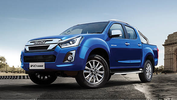 isuzu  cross suv facelift launched  india prices start  rs  lakhs overdrive