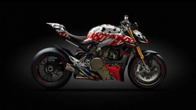Ducati Streetfighter V4 prototype unveiled – set to take on Pikes Peak Hill Climb