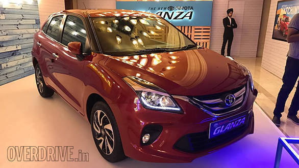 2019 Toyota Glanza Launched In India At Rs 7 21 Lakh Overdrive