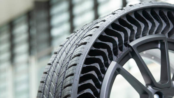 Michelin and GM want to run airless tires in five years