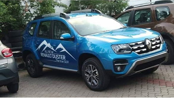 e0e2d753806 2019 Renault Duster SUV spotted ahead of launch on July 8 in India ...
