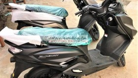 Suzuki Burgman Street scooter spotted in matte black colour – launch expected soon