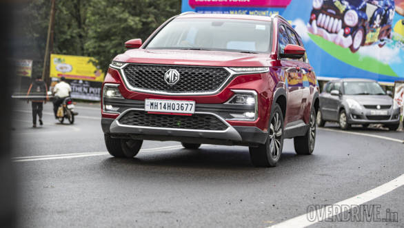 2019 MG Hector petrol automatic road test review - Overdrive