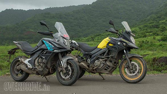 Comparison test: CFmoto 650MT vs Suzuki V-Strom 650 XT