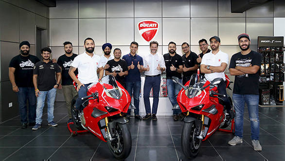 Two Ducati Panigale V4 R delivered in Delhi, India - Overdrive