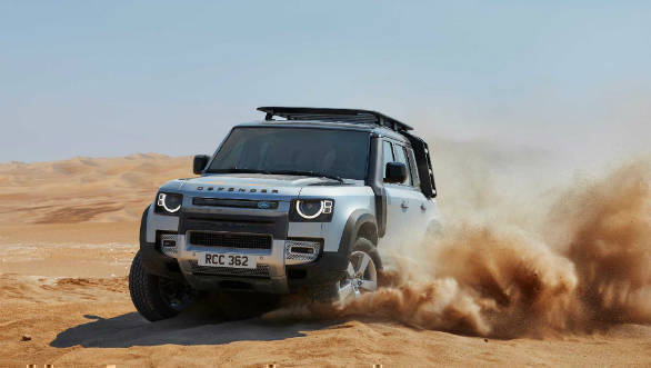 Frankfurt Motor Show: 2020 Land Rover Defender Breaks Cover