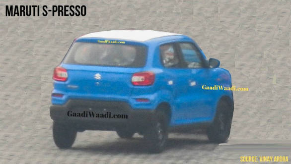 2019 Maruti Suzuki S Presso Spied Ahead Of September 30 Launch Overdrive,Stone Work Simple Hand Embroidery Neck Designs For Kurtis