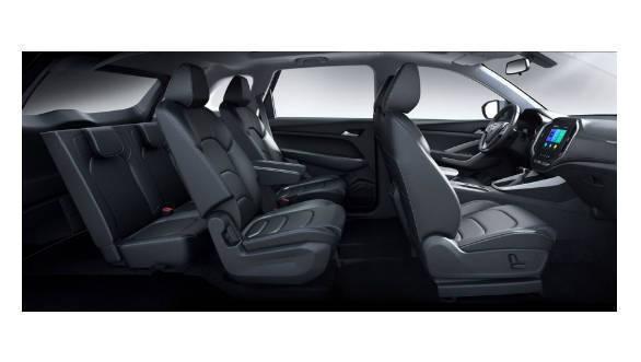 Baojun 530 (MG Hector) six-seater interior