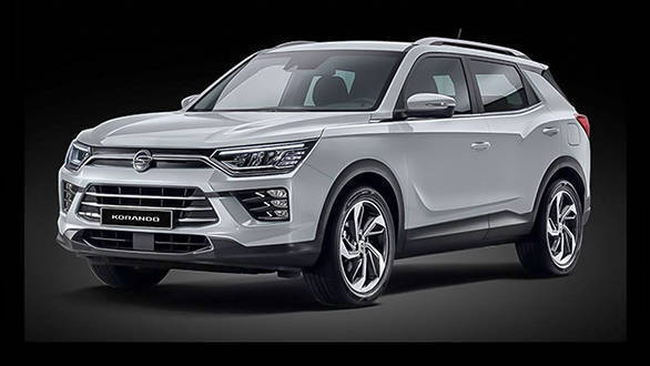 2020 Ssangyong Korando which could lend its underpinnings to the next-gen Mahindra XUV500