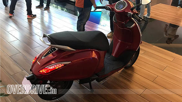 Bajaj Chetak All-electric OVERDRIVE (3)