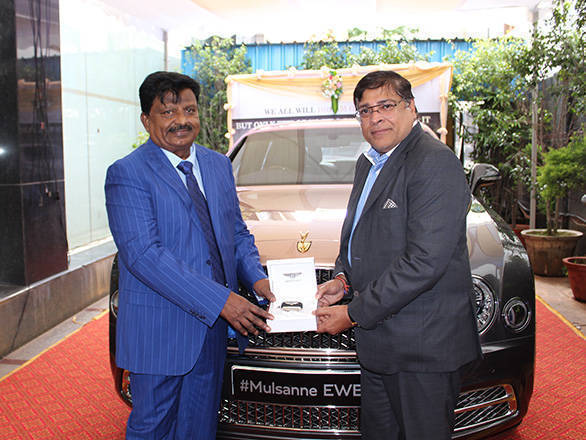 Bentley Mulsanne Extended Wheel Base delivered in Banglore, India (1)