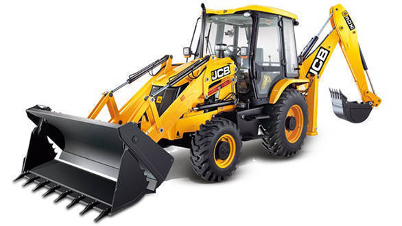 Image of JCB 3DX Backhoe Loader for reference