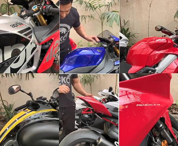JOHN Abharam Superbike collection