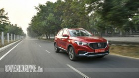 2020 MG ZS EV electric SUV first drive review