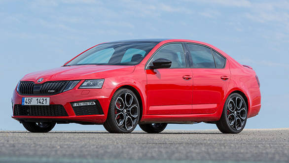 245PS Skoda Octavia RS to launch soon in India