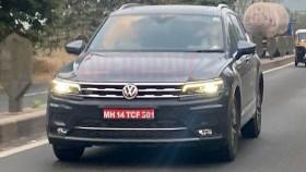 Exclusive: Volkwagen Tiguan Allspace spied in India