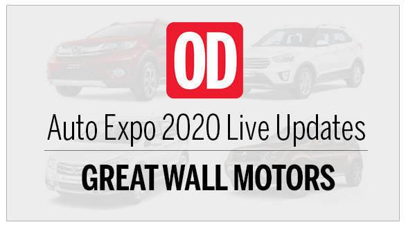 AutoExpo 2020 live updates Great Wall Motors