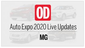 Auto Expo 2020: MG Motors Live Updates