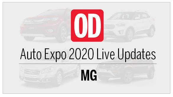 AutoExpo 2020 live updates MG
