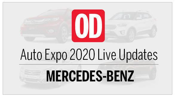 AutoExpo 2020 live updates Mercedes-Benz