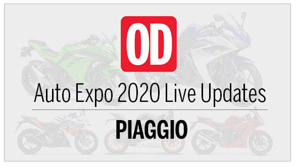 Auto Expo 2020 live updates Piaggio