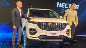Auto Expo 2020: 2020 MG Hector Plus three-row SUV unveiled in India