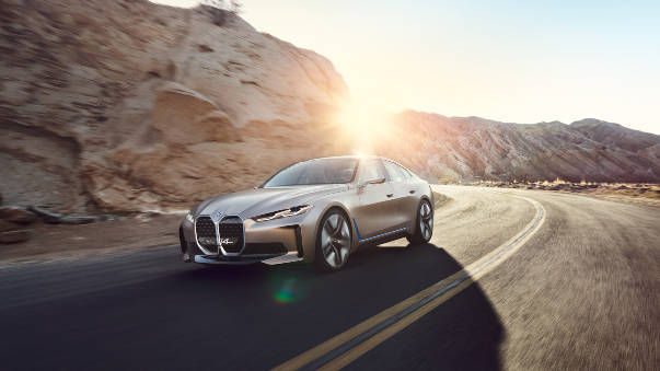 BMW foretells Tesla rival with Concept i4