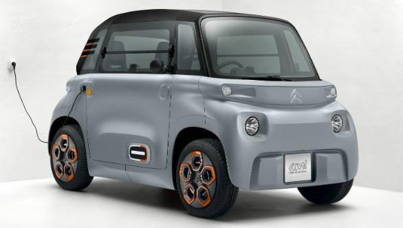PSA unveils a mini electric Citroen vehicle
