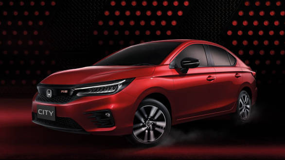 2020 Honda City Rs Turbo Petrol Under Consideration For India