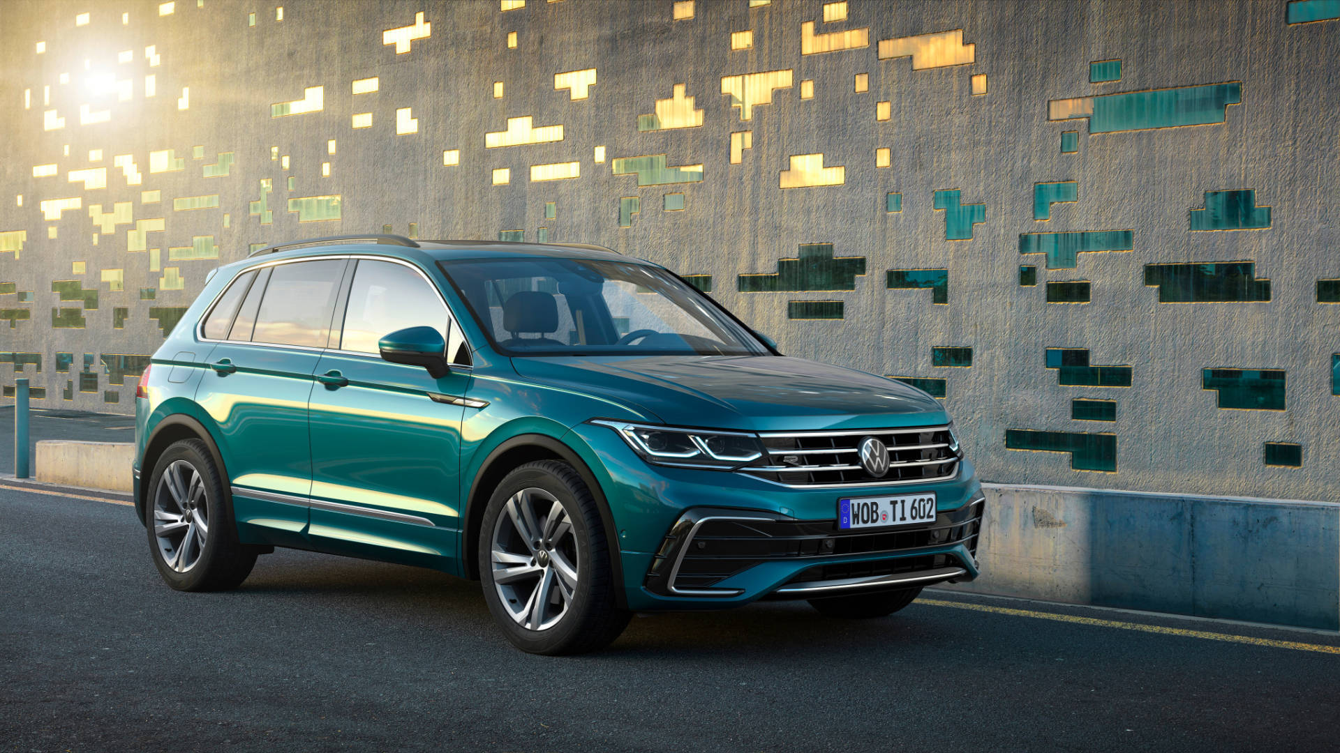 Volkswagen Tiguan facelift revealed