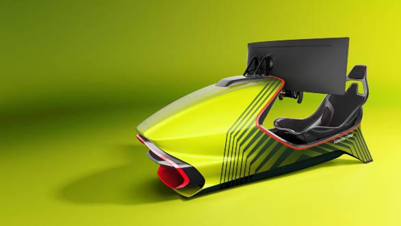 Aston Martin AMR-C01 Racing Simulator exterior