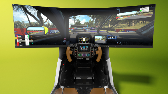 Aston Martin AMR-C01 Racing Simulator seating