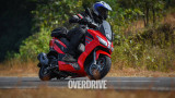 Aprilia SXR 160 first ride review - India's modern maxi-scooter?