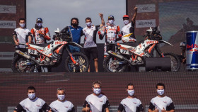 Dakar 2021: Hero MotoSports team finishes Dakar with both riders in top 15 overall