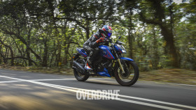 2021 TVS Apache RTR 200 4V road test review