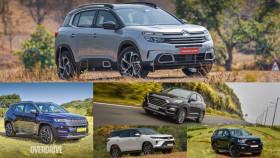 Spec comparison: Citroen C5 Aircross vs Jeep Compass vs Hyundai Tucson vs Toyota Fortuner vs Ford Endeavour